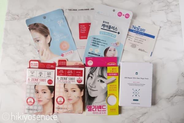 ニキビパッチは韓国女子の基本!8製品を比較レビュー【おすすめの使い方】